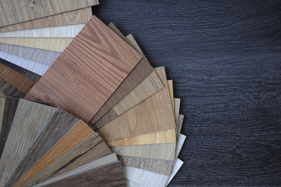 Laminate And Vinyl Flooring Samples